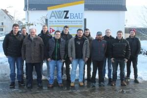 Kursteilnehmer Vorarbeiter im Hoch- und Tiefbau